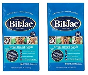 Bil Jac Small Breed Select Dry Dog Food, 6 lb ( 2 Pack)