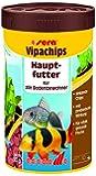 sera vipachips, Die Hauptfutter Bodenfutterchips für Zierfische der unteren Wasserschicht im Aquarium, 1er Pack (1 x 250milliliters) -