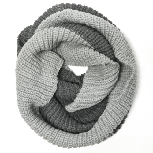 NEW Wrapables Thick Knitted Winter Warm Infinity Scarf ...