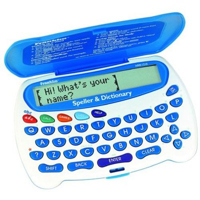 Franklin HW1216 Childrens Speller & Dictionary with cursive handwriting animation calculator/arithmetic tutor