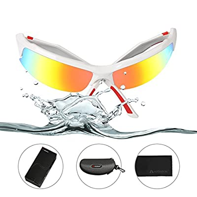 HODGSON Sports Polarized Sunglasses for Men or Women, UV400 Protection Unbreakable Sports Glasses for Cycling, Baseball Riding, Driving, Running, Golf and Other Outdoor Activities