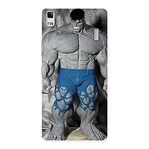 Stylish Blue Big Guy Back Case Cover for Lenovo K3 Note