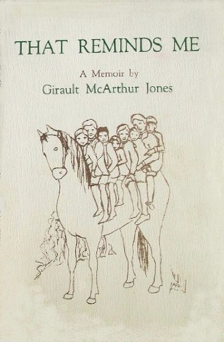 That Reminds Me by Girault M. Jones