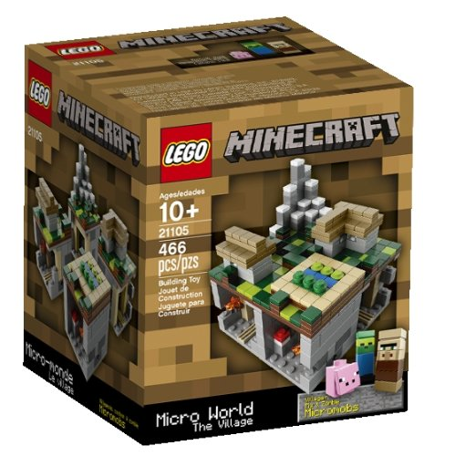 LEGO Minecraft The Village 21105 - minecraft