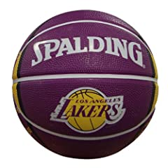 Buy NBA Los Angeles Lakers Mini Basketball by Gulf Coast Sales