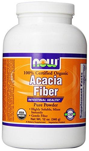 Now Foods Fiber Powder Organic Acacia  Ounce