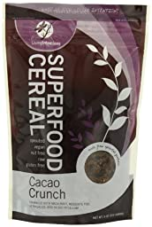 Living Intentions Superfood Cereal, Cacao Crunch, 9 Ounce