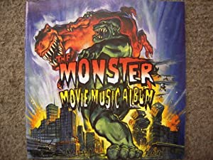 The Monster Movie Music Album Soundtrack by Silva Screen