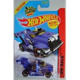 HOT WHEELS RIG STORM HW RACE 175/250 BLUE SHIP IN BOX