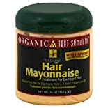 Organic Root Treatment for Damaged Hair, Hair Mayonnaise, 16 oz (454 g)