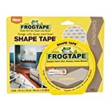 Frog Shape Design Painters Tape -Yellow Chevron
