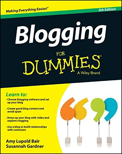Download Blogging For Dummies