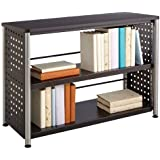 Safco Products 1601BL Scoot Bookcase, 2 Shelf, Black