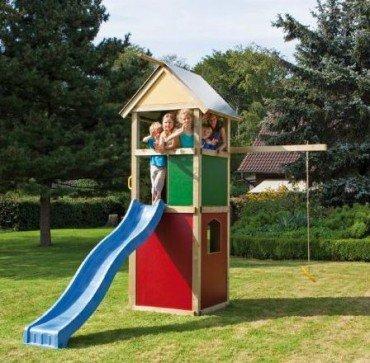 WINNETOO Spielturm Kletterturm bunt GP851 online bestellen