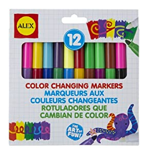 ALEX® Toys - Young Artist Studio - Color Changing Markers
