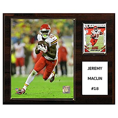 C and I Collectables NFL 15W x 12H in. Jeremy Maclin Kansas City Chiefs Player Plaque