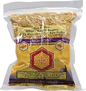 Pollen Granules-New Label semi-moist CC Pollen 1 lb Bag
