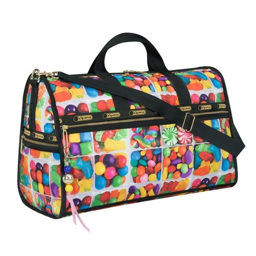 Dylan's Candy Bar LeSportsac Medium Weekender in Sugar Cube