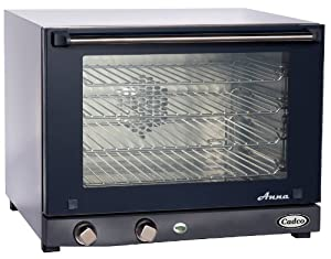 Cadco OV-023 Compact Half Size Convection Oven with Manual Controls, 208-240-Volt... by Cadco