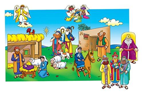 Beginners Bible - Baby Jesus Flannelboard Figures - Pre-Cut