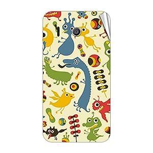 Garmor Designer Mobile Skin Sticker For Huawei Ascend C8812 - Mobile Sticker