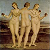 The Three Graces of Chantilly, by by P. de Vecchi (Print On Demand)