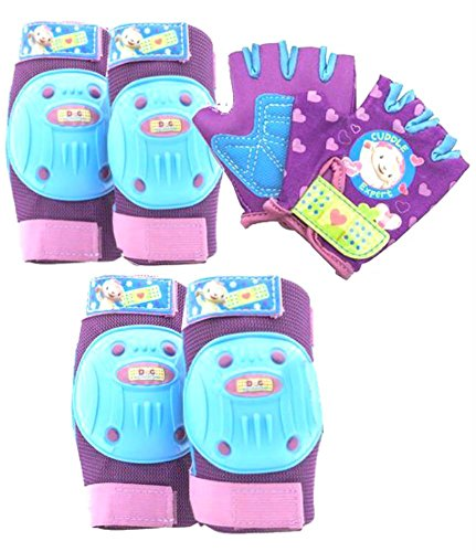 Doc-McStuffins-6pc-Gear-Set-KneeElbow-Pads-and-Gloves