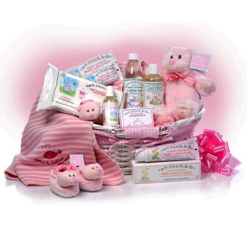 'My First Teddy' Baby Girl Basket