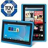 Chromo Inc Tablet - 7 inch HD touchscreen Android Tablet - Updated with TUV quality certification - Blue