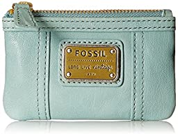 Fossil Emory Zip Coin Purse, Sea Glass, One Size