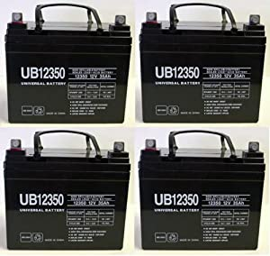 BATTERY,12V,35AH,PRIDE,JET 3,JET 7,LX,LEGEND,LEGEND XL - 4 Pack