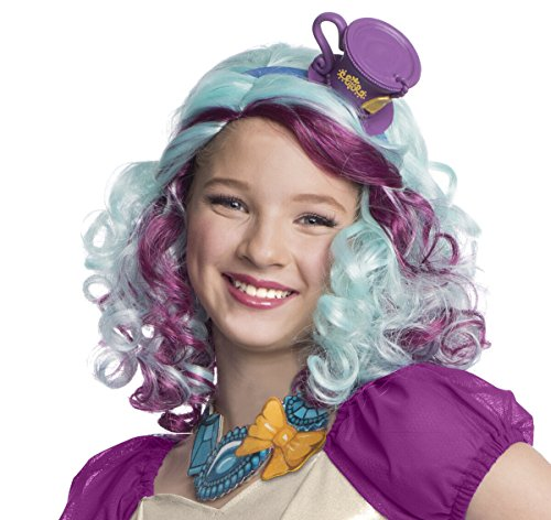 Ever After High - Madeline Hatter Wig with Headpiece - Standard One-Size