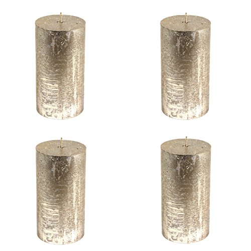 4-x-rustic-cylindrique-bougies-champagne-oe-68-x-130-mm-lot-de-4-bougies-pilier-de-bougies-pilier-bo