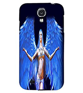 SAMSUNG GALAXY MEGA 6.3 ANGEL GIRL Back Cover by PRINTSWAG