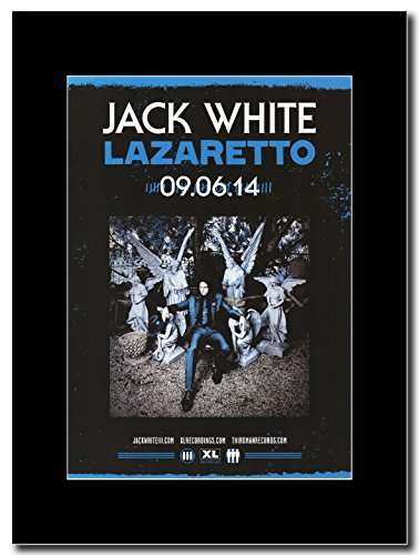 Jack White-Lazaretto Magazine Promo su un supporto, colore: nero