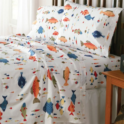 fish bedding fishing themed bedding