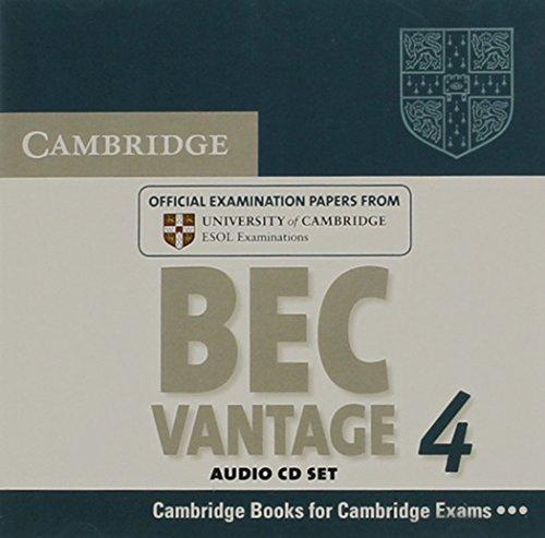 Cambridge BEC 4 Vantage Audio CDs (2): Examination Papers from University of Cambridge ESOL Examinations (BEC Practice Tests)