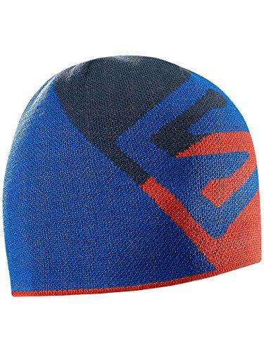 Salomon Flat Spin Short Beanie Bl - Cappello da uomo, colore Blu, taglia OSFA