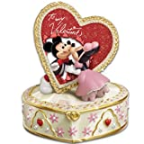 Disney's Let Me Call You Sweetheart Valentine's Day Music Box by The Bradford Exchange
