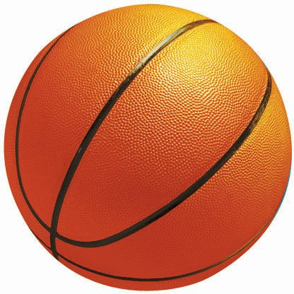 "Amscan - Basketball-Shaped 10"" Cutout"