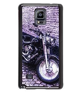 Printvisa 2D Printed Bike Designer back case cover for Samsung GalaxySamsung Galaxy Note4 N/910F/N910H - D4501
