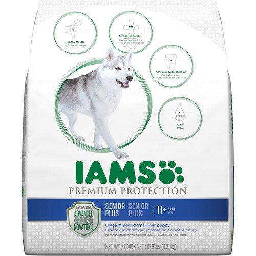 10.6 Lbs Dry Dog Food Pet Product, Muscle, Dha, Fish Oil, Crunchy Kibbles