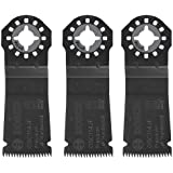 Bosch OSC114JF-3 1-1/4-Inch Multi-Tool Japanese-Tooth Precision Plunge Cut Blade, 3-Pack