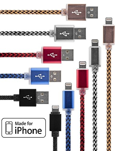 5-pack-certified-33ft-lightning-iphone-cables-usb-data-transfer-charging-syncing-in-5-different-colo