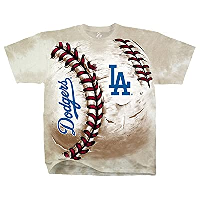 Official MLB Los Angeles Dodgers Hardball Tie dye T shirt