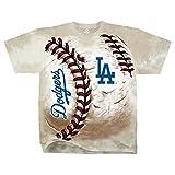 Official MLB Los Angeles Dodgers Hardball Tie dye T shirt