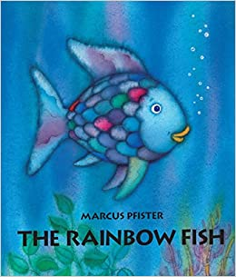 The rainbow fish marcus pfister 0038332606201 amazon for Book with fish on cover
