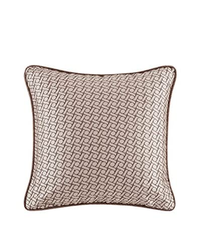 Metropolitan Home Eclipse Square Pillow, Ivory