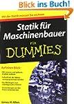 Statik f�r Maschinenbauer f�r Dummies