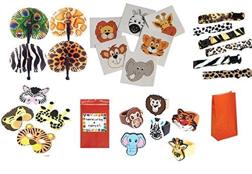 Safari Party Favor Set (204 Pieces, Set Of 12)